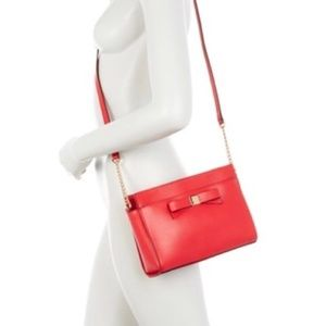 Kate Spade Angelica Red Crossbody Bag